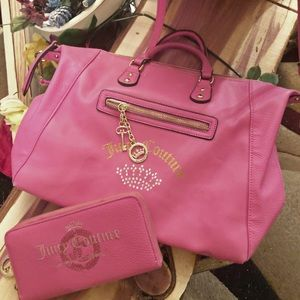Juicy Couture Tote with matching wallet